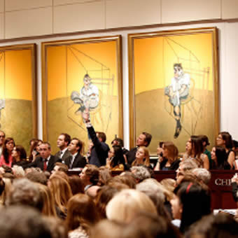 Francis Bacon at Christie's Auction House