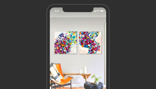 View Art In Your Home
